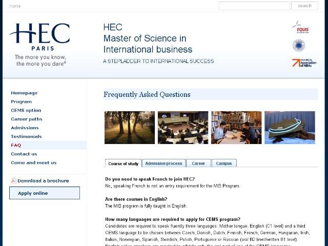 nemetral HEC Paris International Masters programs